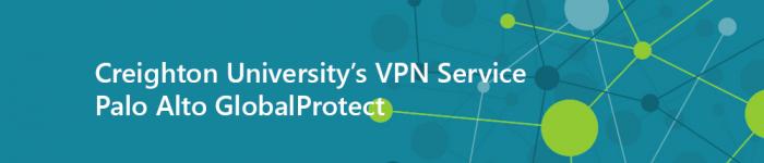Creighton VPN Banner Image